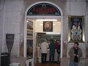 Ginjinha store, Lisbon, Portugal