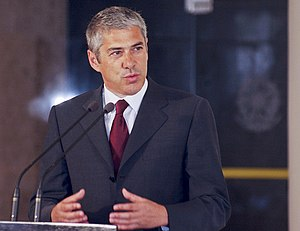 José Sócrates, current Prime Minister of Portugal.