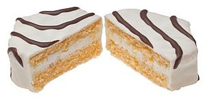 English: Little Debbie Zebra Cakes, made by Mc...