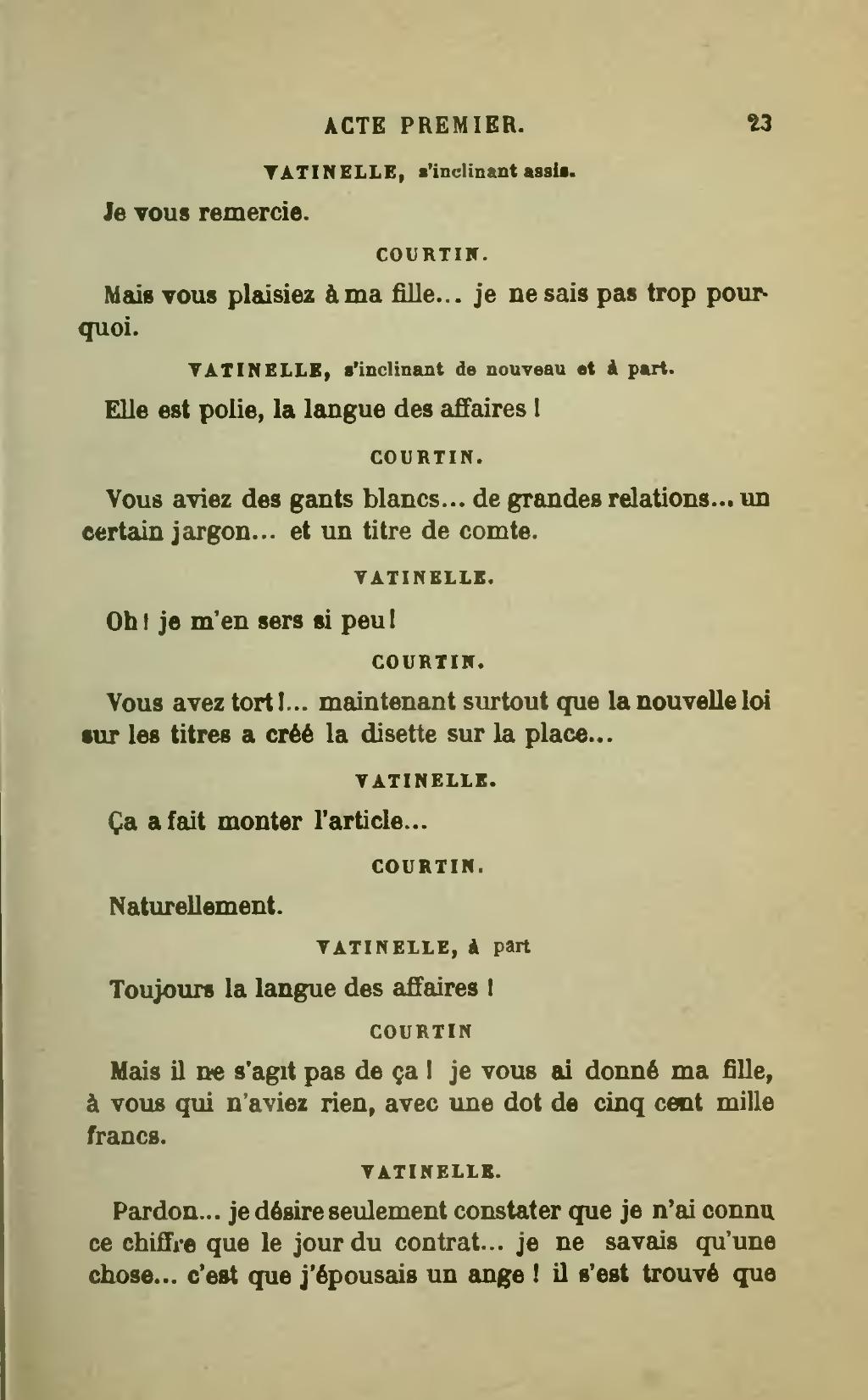 Je Ne Sais Qu'une Chose Je Ne Sais Rien : qu'une, chose, Page:Labiche, Théâtre, Complet,, Calman-Lévy,, 1898,, Volume, 08.djvu/33, Wikisource