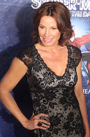 English: LuAnn de Lesseps at the Spiderman: Tu...