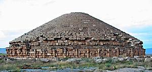 English: The Numidian Royale Mausoleum (Boumia...
