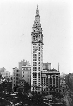 Metropolitan Life Bldg., Manhattan, New York C...