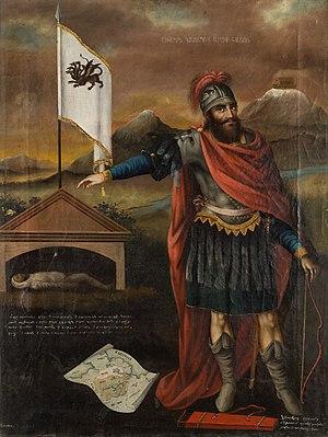 English: Hayk Nahapet, the legendary patriarch...