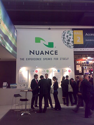 Nuance stand at GSMA Barcelona 2008