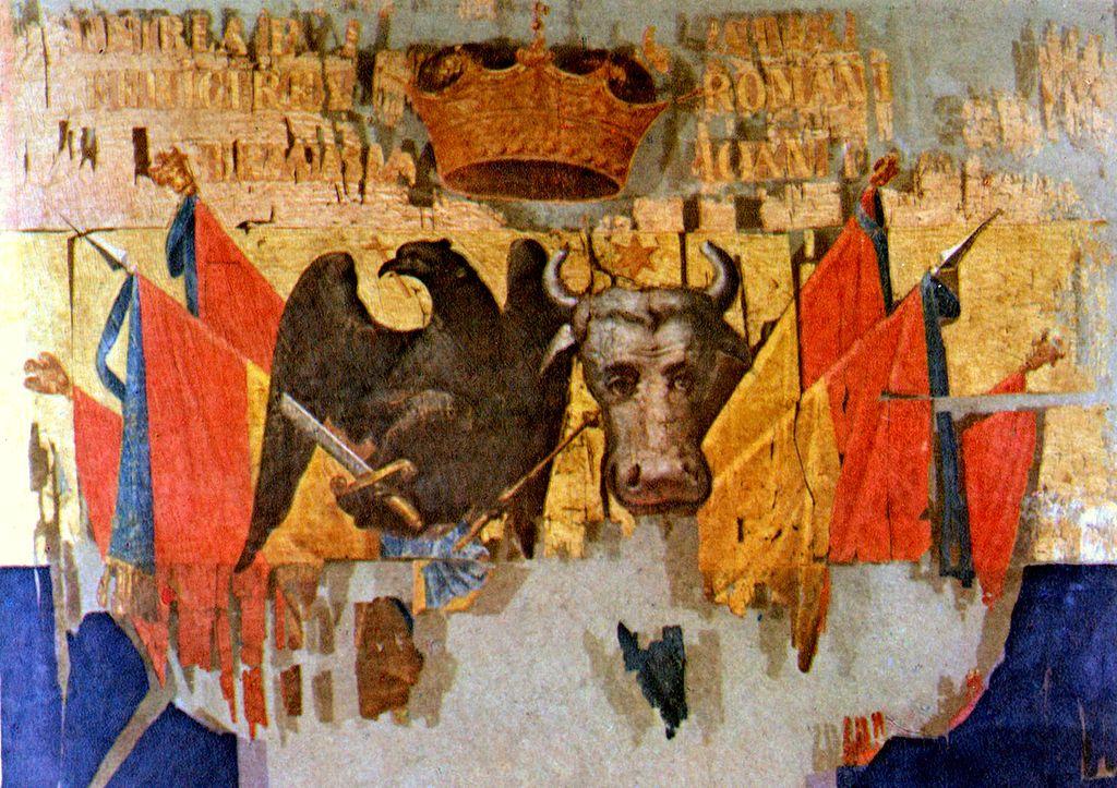Drapelul comun al Valahiei şi Moldovei