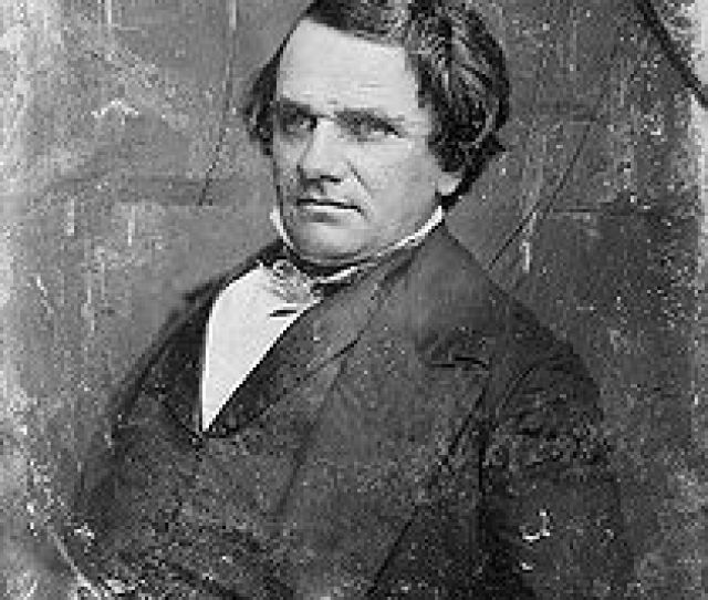 Stephen A Douglas Douglas And Lincoln Would Spend Much Of Their Public Careers As Rivals