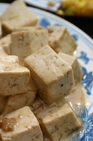 Examples of high-protein foods are tofu, dairy...