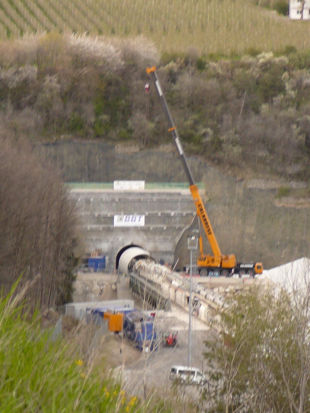 Tunnel De Base Du Brenner Wikipdia