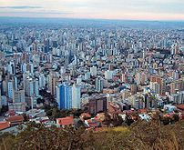 View of Belo Horizonte.