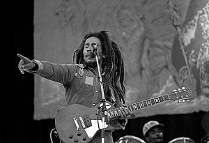 Marley performing at Dalymount Park