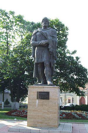 Image from Orăştie, Romania - Burebista Statue