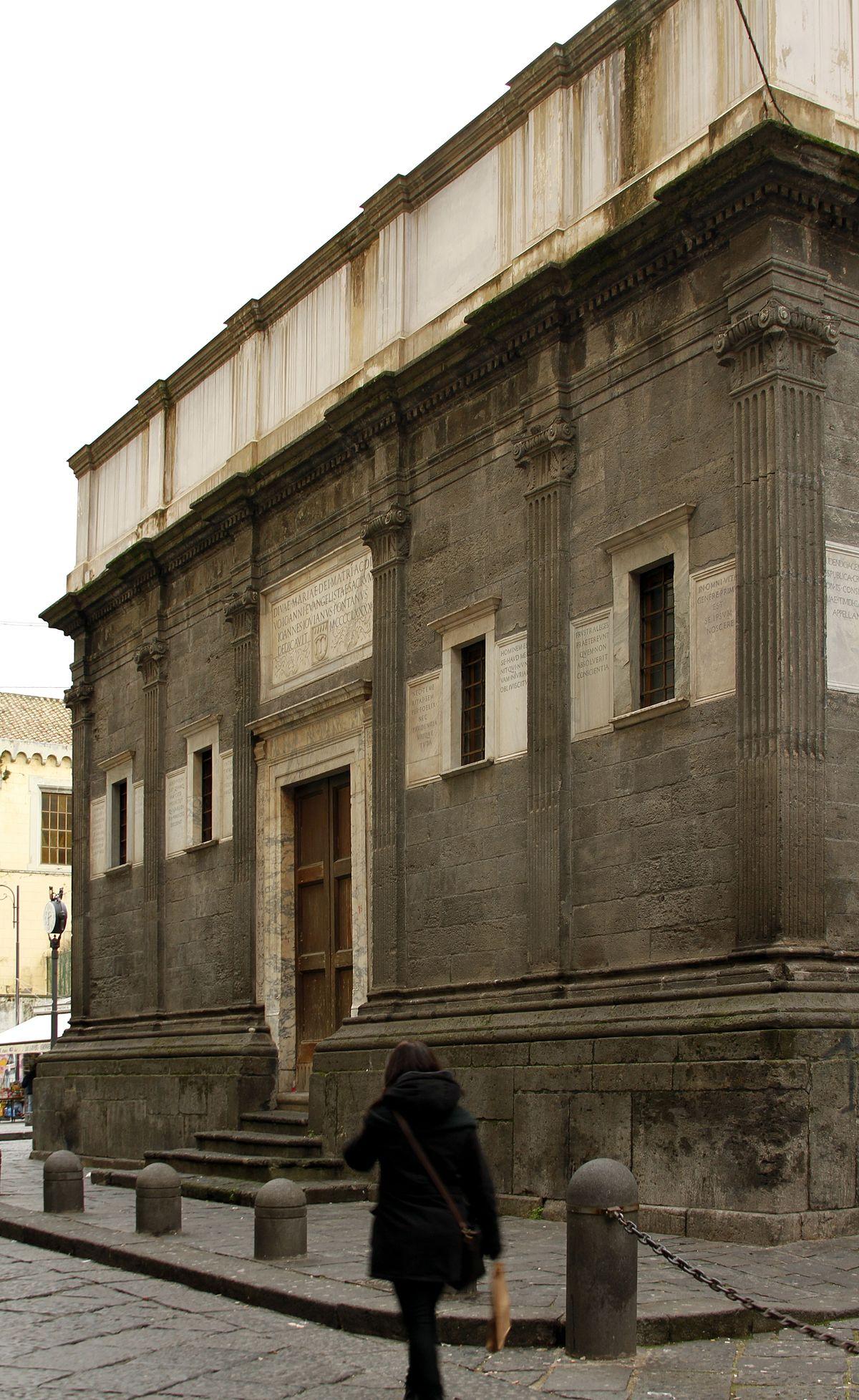 Pontano Chapel  Wikipedia
