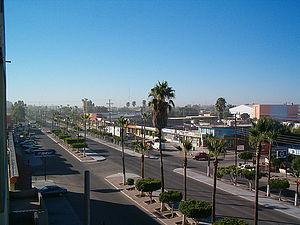 English: City view of Ciudad Constitución, Baj...