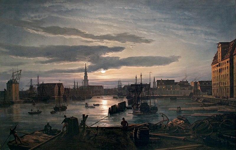 File:Dahl - Copenhagen Harbour by Moonlight.jpg