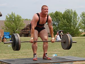 Strongmen event: the Deadlift (phase 2).