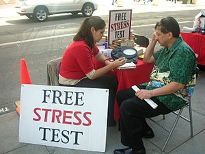 Scientology Stress Test with E-meter