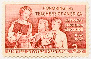 Honoring the teachers of America. National edu...