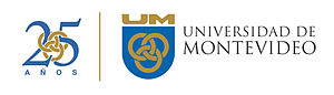 English: University of Montevideo logo Español...