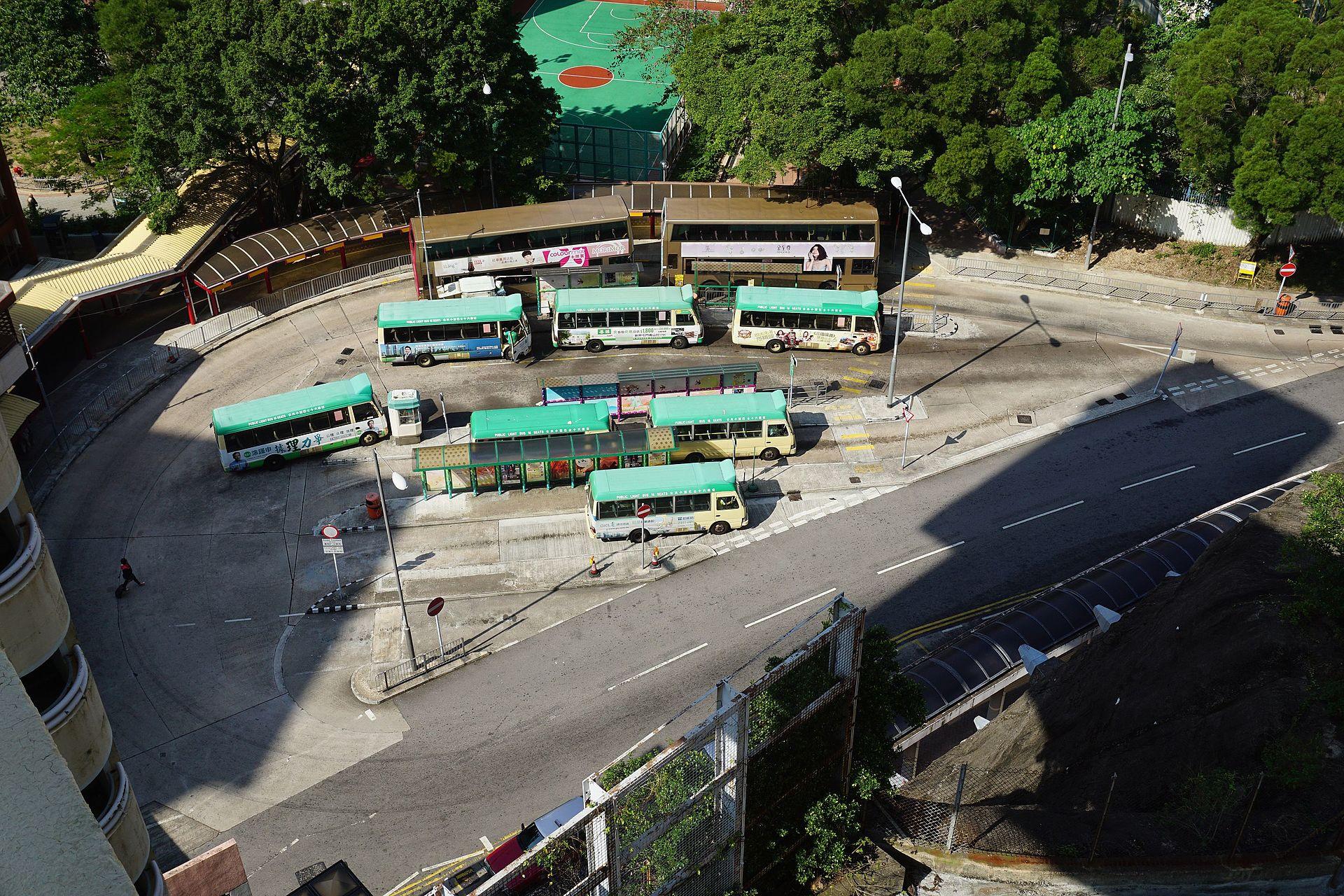 石籬(梨貝街)巴士總站 - 維基百科,自由的百科全書