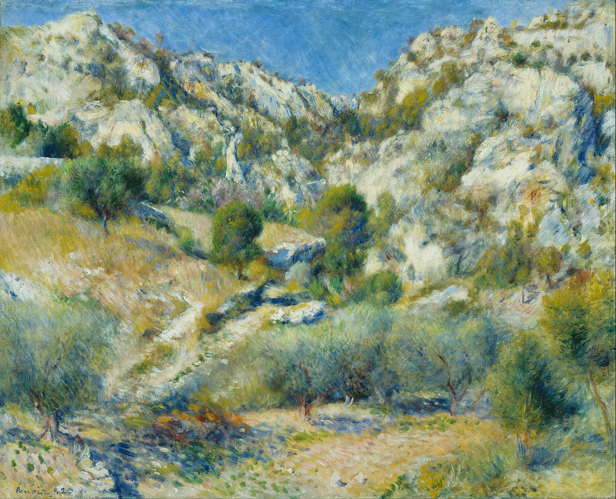 FilePierreAuguste Renoir  Rocky Crags at LEstaque