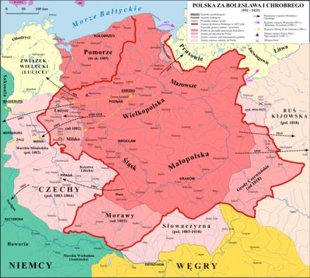 Łużyce w granicach Królestwa Polskiego
