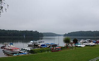 Hier fand die Suche statt: Templiner Stadtsee (Bild: Olaf Meister)