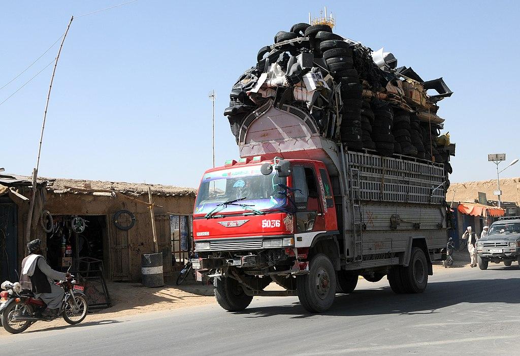 Image result for afghanistan truck