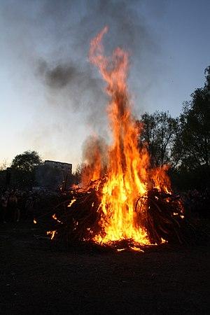 English: The celebration of Walpurgis Night - ...