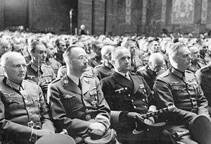 Wilhelm Keitel, Karl Dönitz, Heinrich Himmler ...