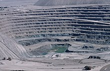 Chuquicamata, Chile Open Pit Copper