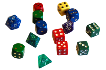 English: Dices Français : Dés