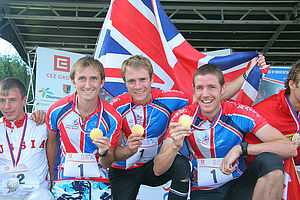 GB team at WOC 2008