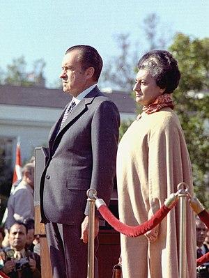 Richard Nixon and Indira Gandhi, 4 November 1971