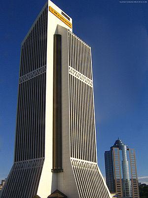 Maybank Tower in downtown Kuala Lumpur, Malaysia