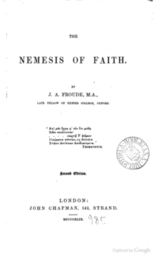 The Nemesis Of Faith Wikipedia