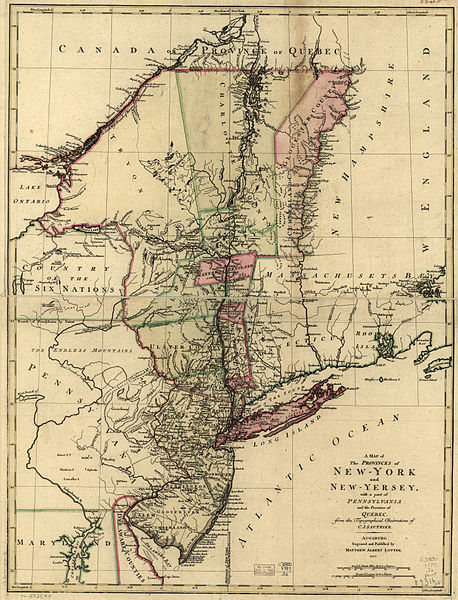New Jersey New York pennsylvania map wikipedia