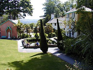 English: Portmeirion The village where NO.6 wa...