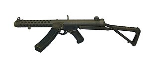 Sterling Mk4 submachine gun, Canada