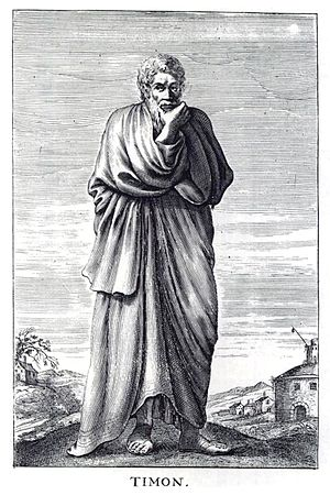 Timon of Phlius, ancient Greek Skeptic philoso...