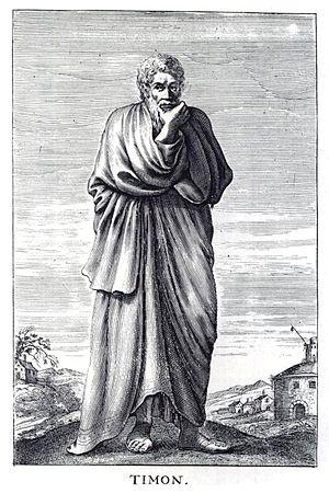 Timon of Phlius, ancient Greek Skeptic philoso...