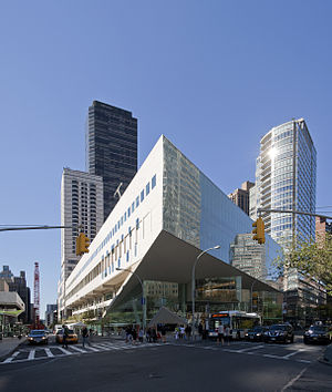 English: The Juilliard School and Alice Tully ...