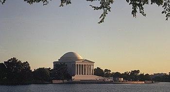 El Monumento Thomas Jefferson Memorial