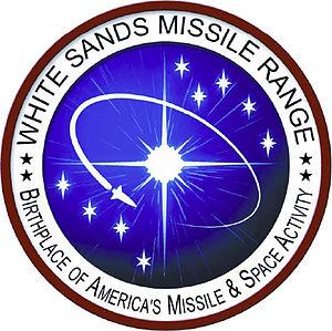 White Sands Missile Range logo.