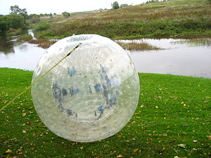 Zorb pall
