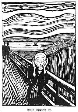 """""""The scream"""". Wellcome L0011212"""