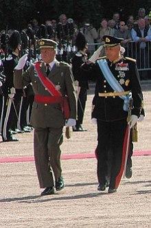 King Juan Carlos I of Spain on visit in Norway (2006)