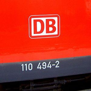 Electric class 110 locomotive - 110 494-2