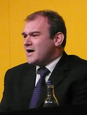 Climate Change secretary & British MP Edward Davey.
