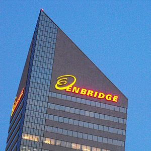 English: Enbridge Building, downtown Edmonton,...